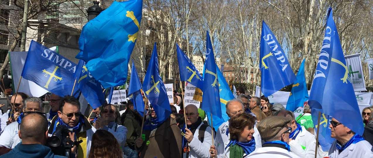El 91% de los facultativos del SESPA ve motivos para de la huelga.